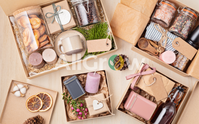 preparing-care-package-seasonal-gift-box-with-coffee-cookies-candles-spices-cups-personalized-eco-friendly-basket-family-friends